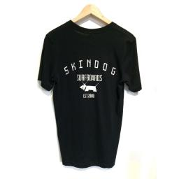 SKINDOG Surfboards Tee - Black