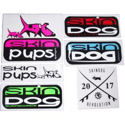 SKINDOG SURFBOARDS £5 Stickers Assorted - Skindog Surfboards