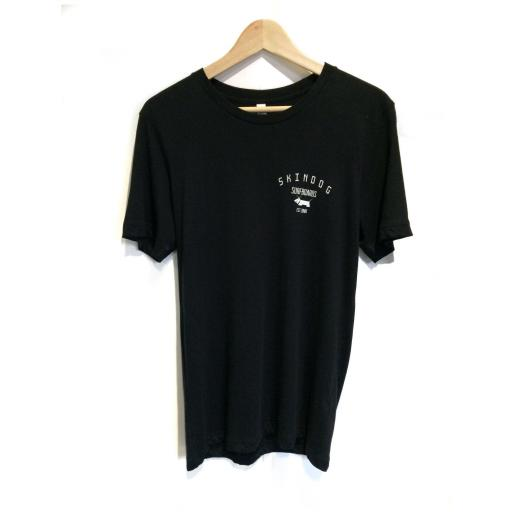SKINDOG Surfboards Tee - Black - Skindog Surfboards