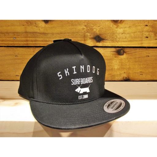 SKINDOG Surfboards Classic Black Cap