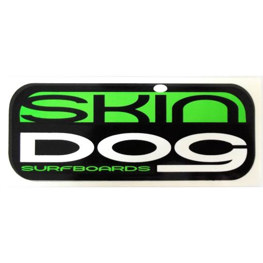SKINDOG CLASSIC STICKER - Neon Green