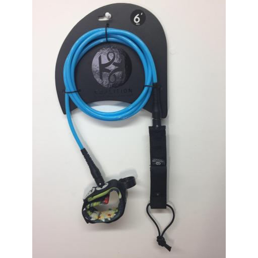 6ft Koalition Regular Leash - Skindog Surfboards